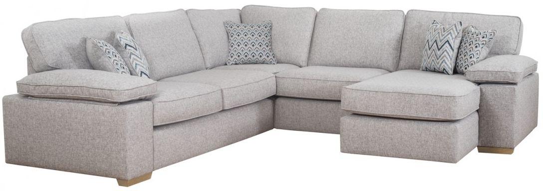Buoyant Memphis Corner Fabric Sofa