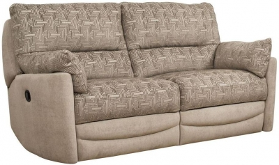 Buoyant Metro 3 Seater Fabric Recliner Sofa