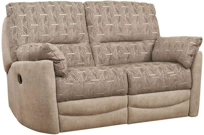 Buoyant Metro 2 Seater Fabric Recliner Sofa