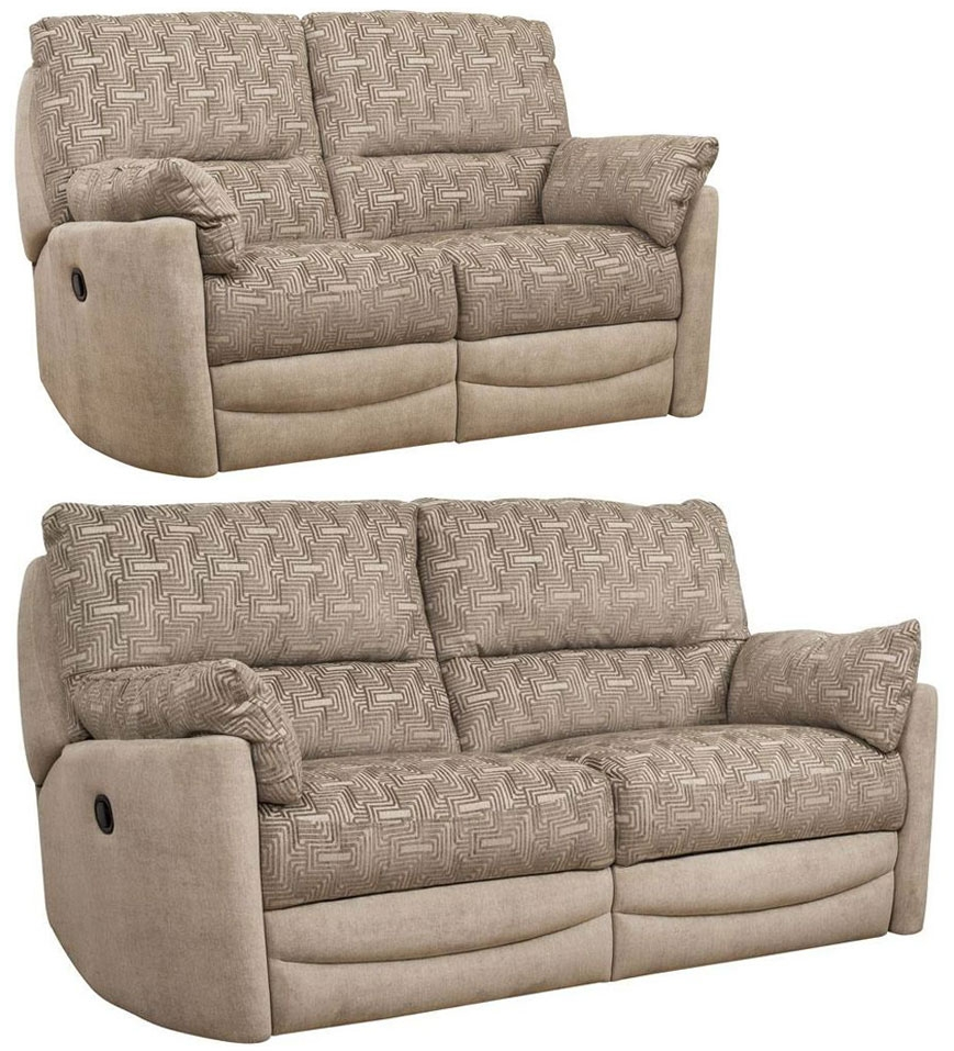 Buoyant Metro 3+2 Seater Fabric Recliner Sofa Suite