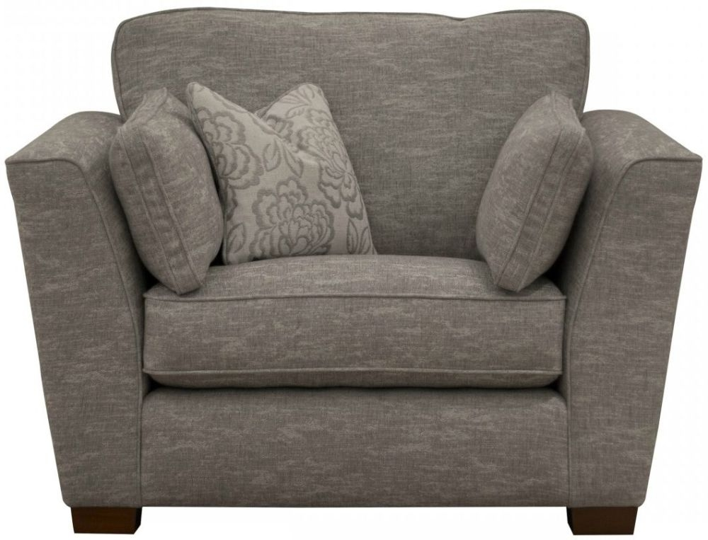 Buoyant Monet Fabric Armchair