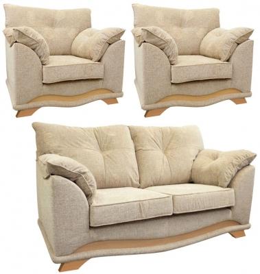 Buoyant Nicole 2+1+1 Fabric Sofa Suite
