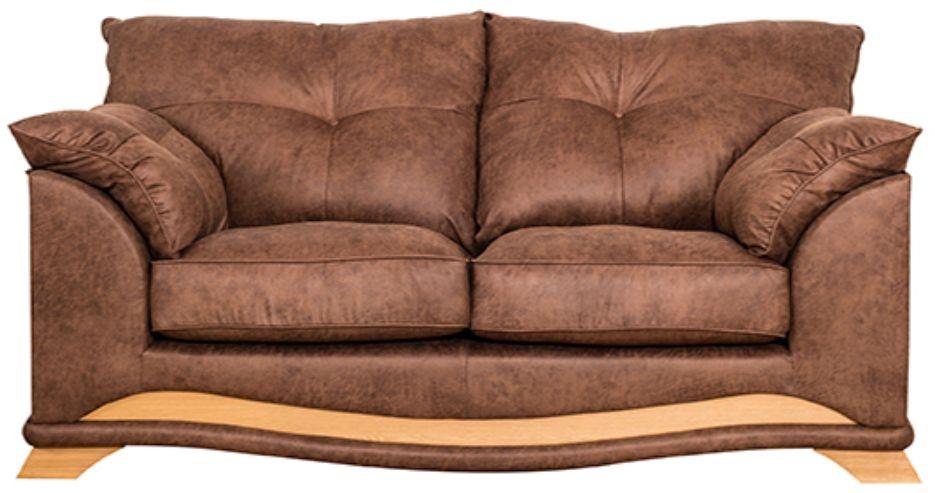 Buoyant Nicole 3 Seater Fabric Sofa