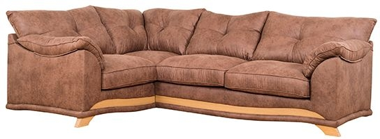 Buoyant Nicole Corner Fabric Sofa - L2C+R2
