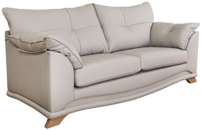 Buoyant Nicole 3 Seater Leather Sofa