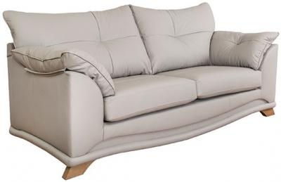 Buoyant Nicole 3 Seater Leather Sofa