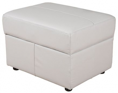 Buoyant Nicole Leather Storage Footstool