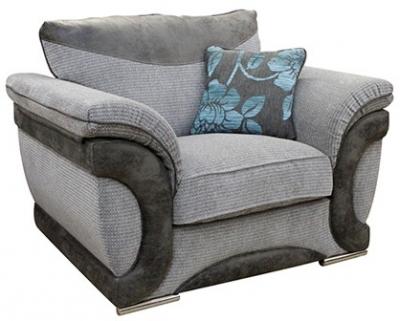 Buoyant Omega Fabric Armchair