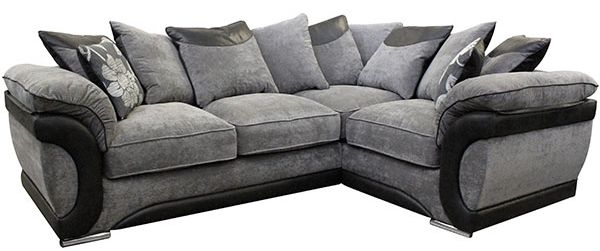 Buoyant Oregan Fabric Corner Sofa -R1+CO+L2