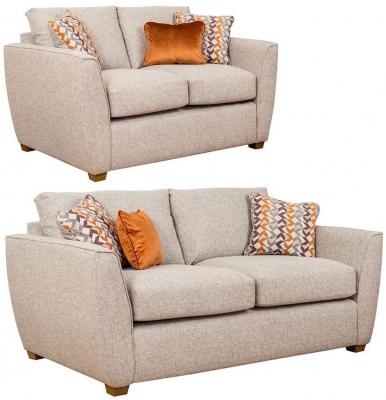 Buoyant Oslo 3+2 Seater Fabric Sofa Suite