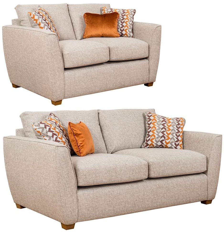 Buoyant Oslo 3+2 Seater Fabric Sofa Suite