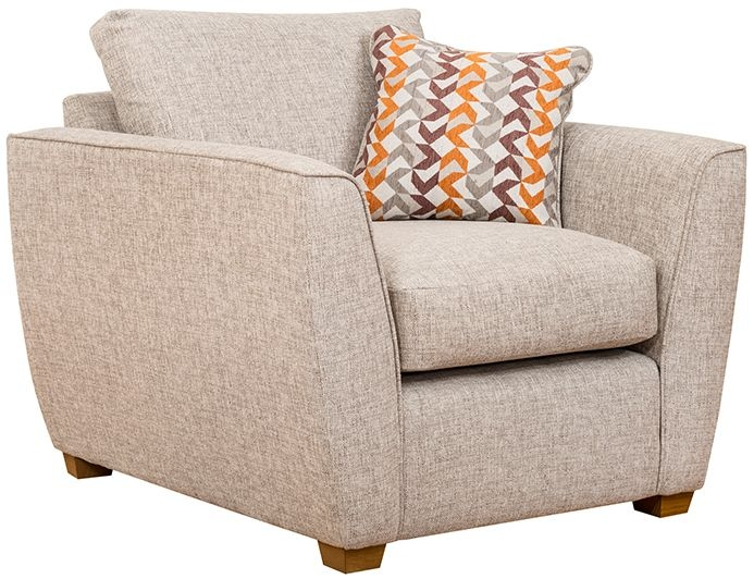 Buoyant Oslo Fabric Armchair