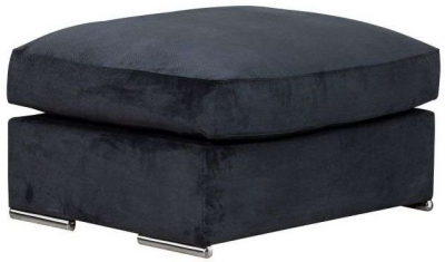 Buoyant Phoenix Fabric Footstool