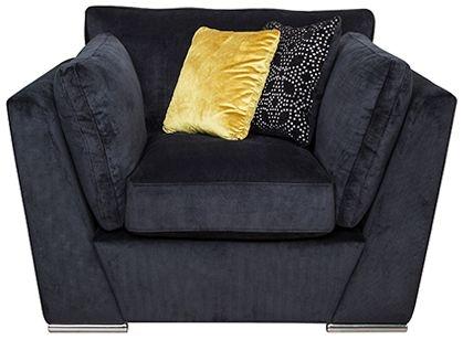 Buoyant Phoenix Fabric Armchair