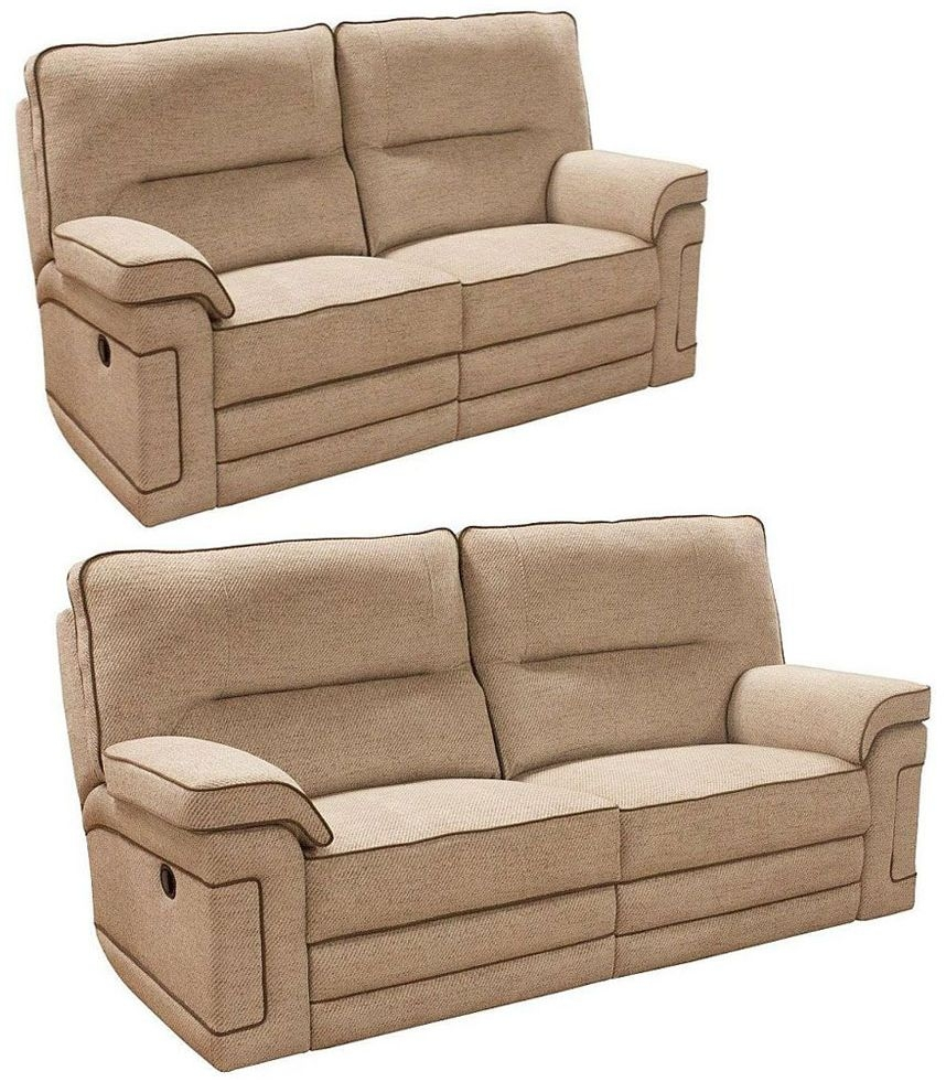 Buoyant Plaza 3+2 Seater Fabric Recliner Sofa Suite