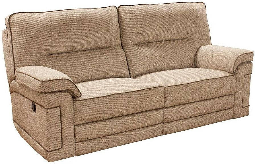 Buoyant plaza 3 seater fabric recliner sofa - Medidas sofa 3 plazas ...