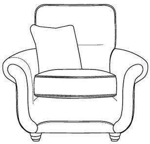Buoyant Portabella Fabric Armchair