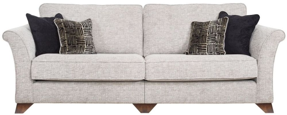 Buoyant Rosa 4 Seater Fabric Modular Sofa