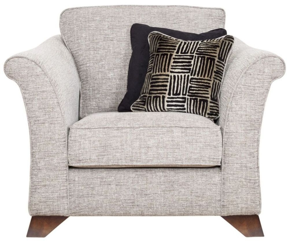 Buoyant Rosa Fabric Armchair