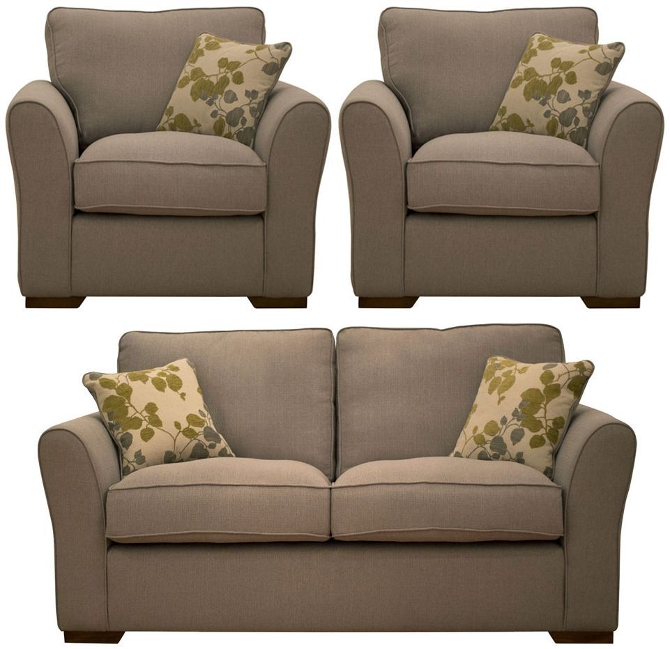 Buoyant Taylor 2+1+1 Seater Fabric Sofa Suite