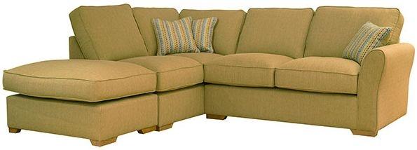 Buoyant Taylor Fabric Corner Sofa - R2+LFC+P
