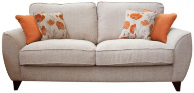 Buoyant Tulip 3 Seater Fabric Sofa