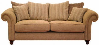 Buoyant Turner 3 Seater Fabric Sofa