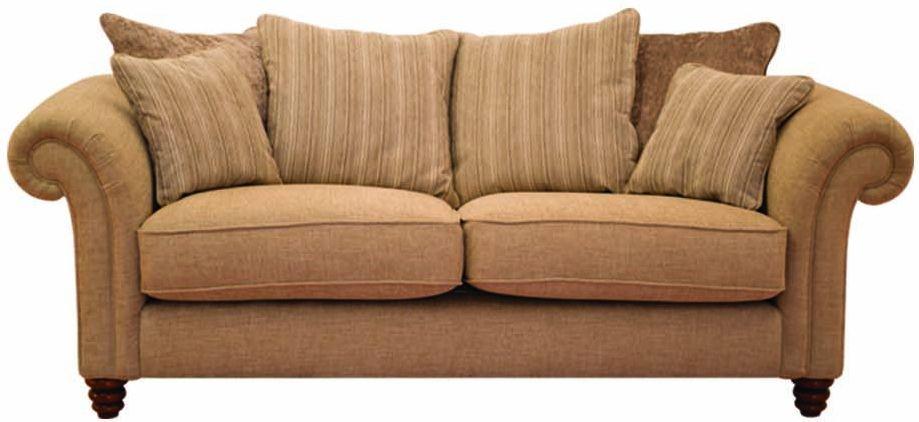 Buoyant Turner 3 Seater Fabric Sofa