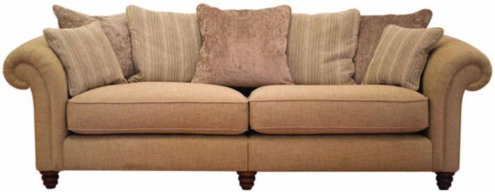 Buoyant Turner 4 Seater Fabric Modular Sofa