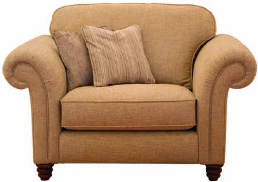 Buoyant Turner Fabric Armchair