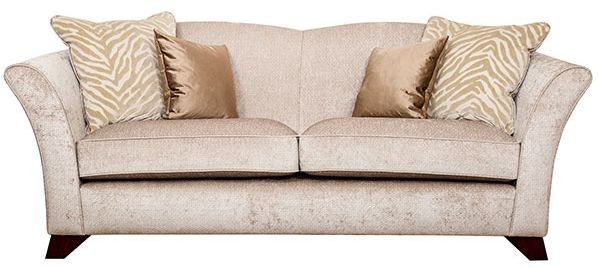 Buoyant Valentino 3 Seater Fabric Sofa