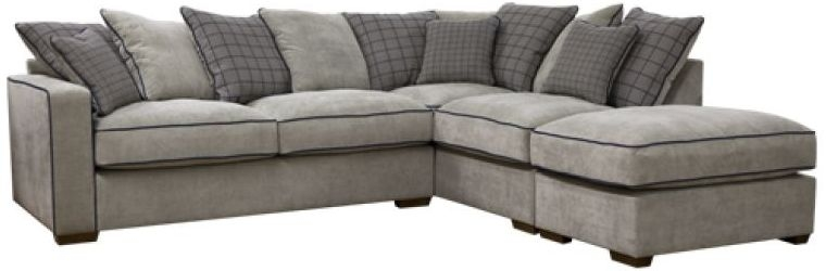 Buoyant Vegas Fabric Corner Sofa - L2+RFC+P