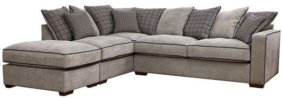 Buoyant Vegas Fabric Corner Sofa - R2+LFC+P