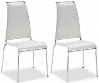 Connubia Air High Metal Dining Chair (Pair)