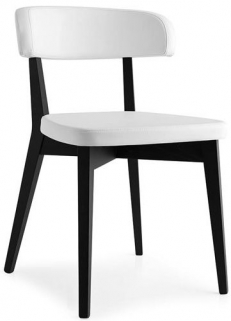 Connubia Siren Nordic Design Wooden Upholstered Dining Chair