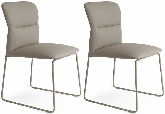 Connubia Frida Upholstered Dining Chair (Pair)