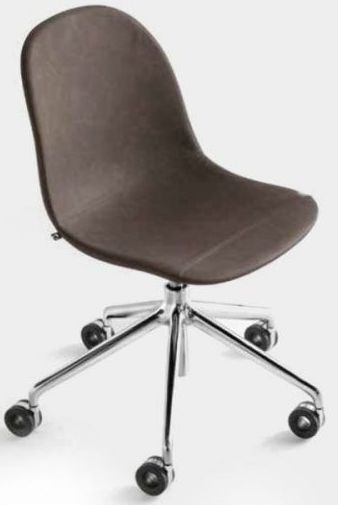Connubia Academy Metal and Vintage Eco-Leather Office Chair CB1911-S0C
