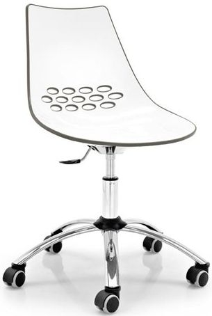 Connubia Jam Metal and Technopolymer Swivel Office Chair
