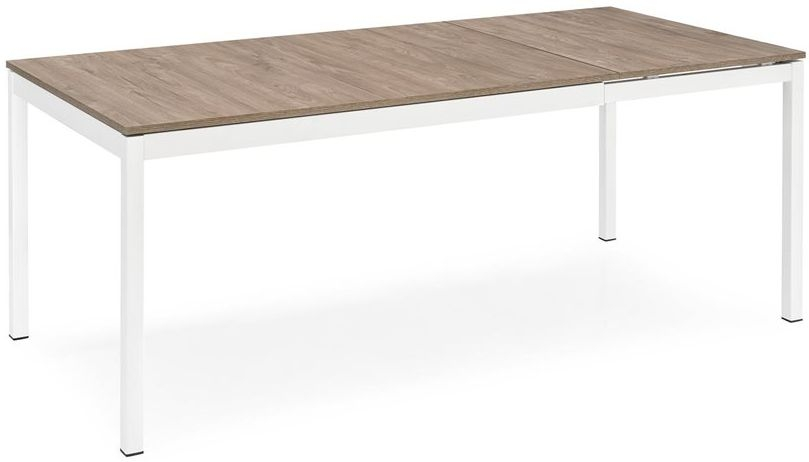 Connubia Snap Wooden and Metal Rectangular Extending Dining Table - 130cm-190cm