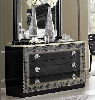Camel Aida Black and Silver Italian Dresser - Single