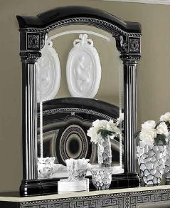 Camel Aida Black and Silver Italian Mirror