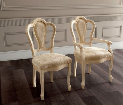 Camel Aida Day Ivory Italian Michelangelo Chair