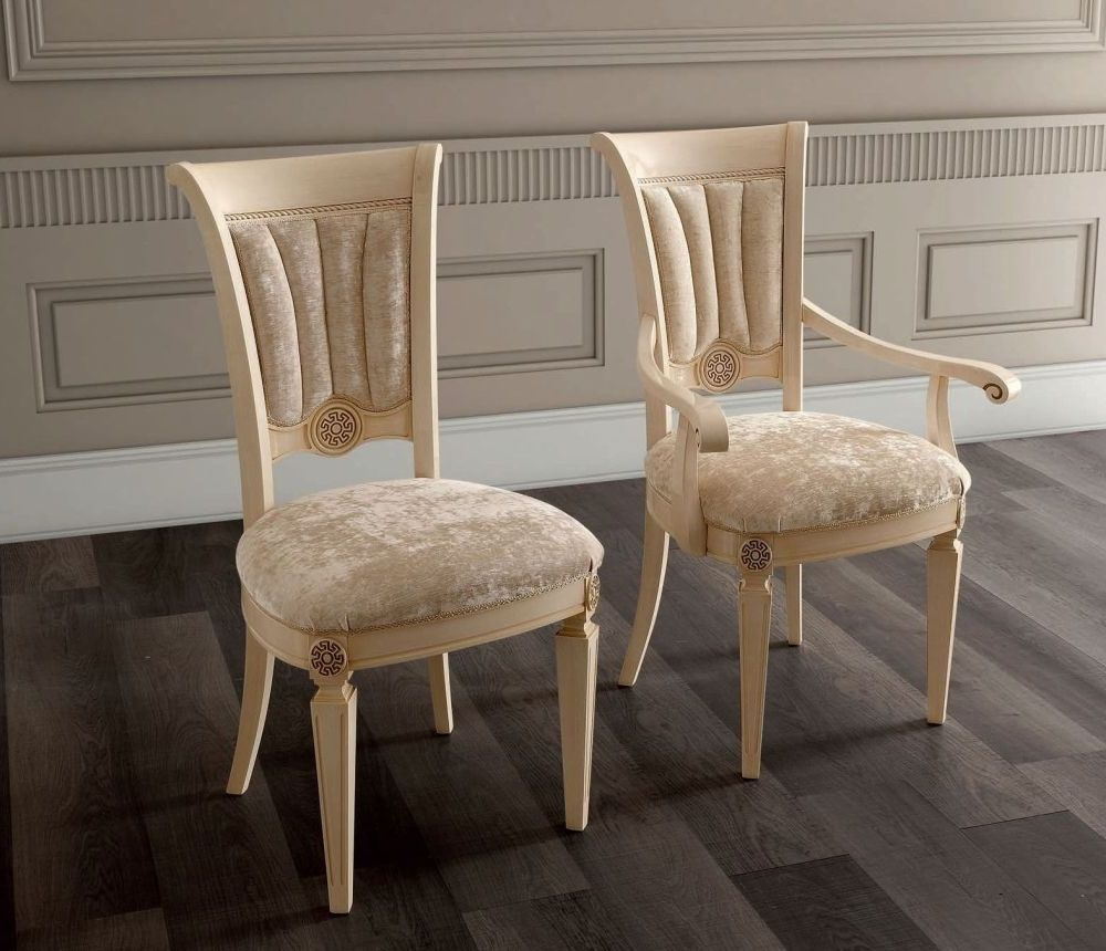 Camel Aida Day Ivory Italian Chair