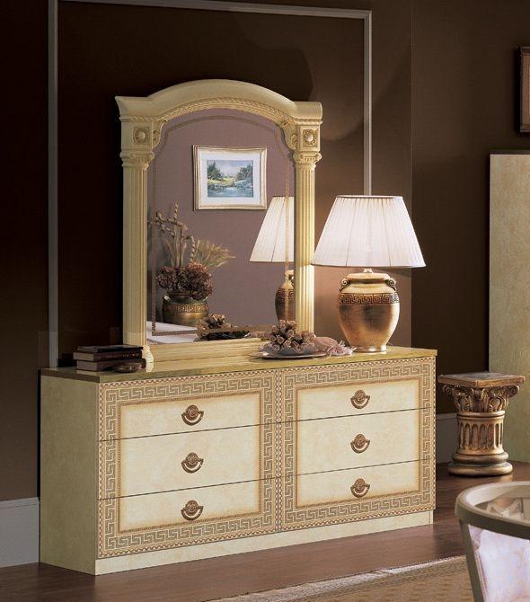 Camel Aida Ivory Italian Double Dresser