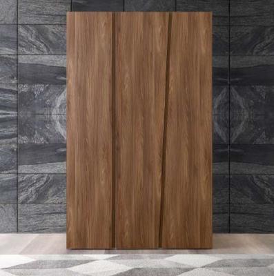 Camel Akademy Night Italian Wooden 3 Door Wardrobe