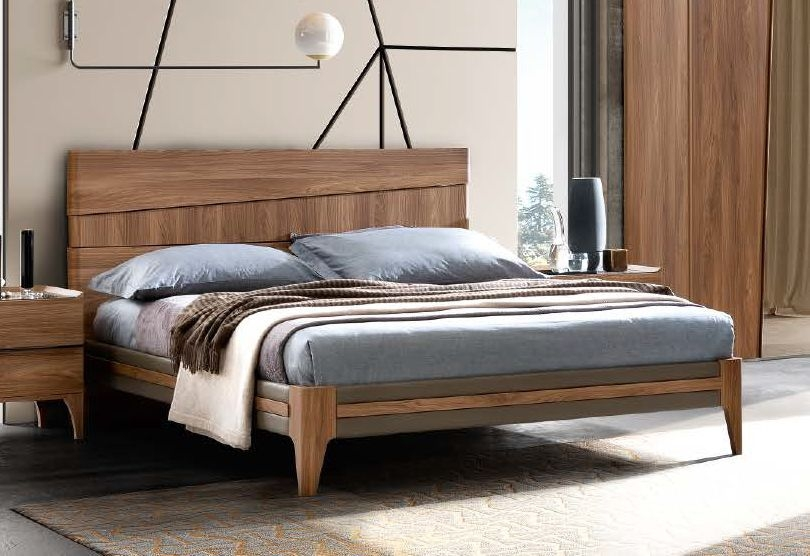Camel Akademy Night Italian Fold with Eco Leather Ring Bed with Storage
