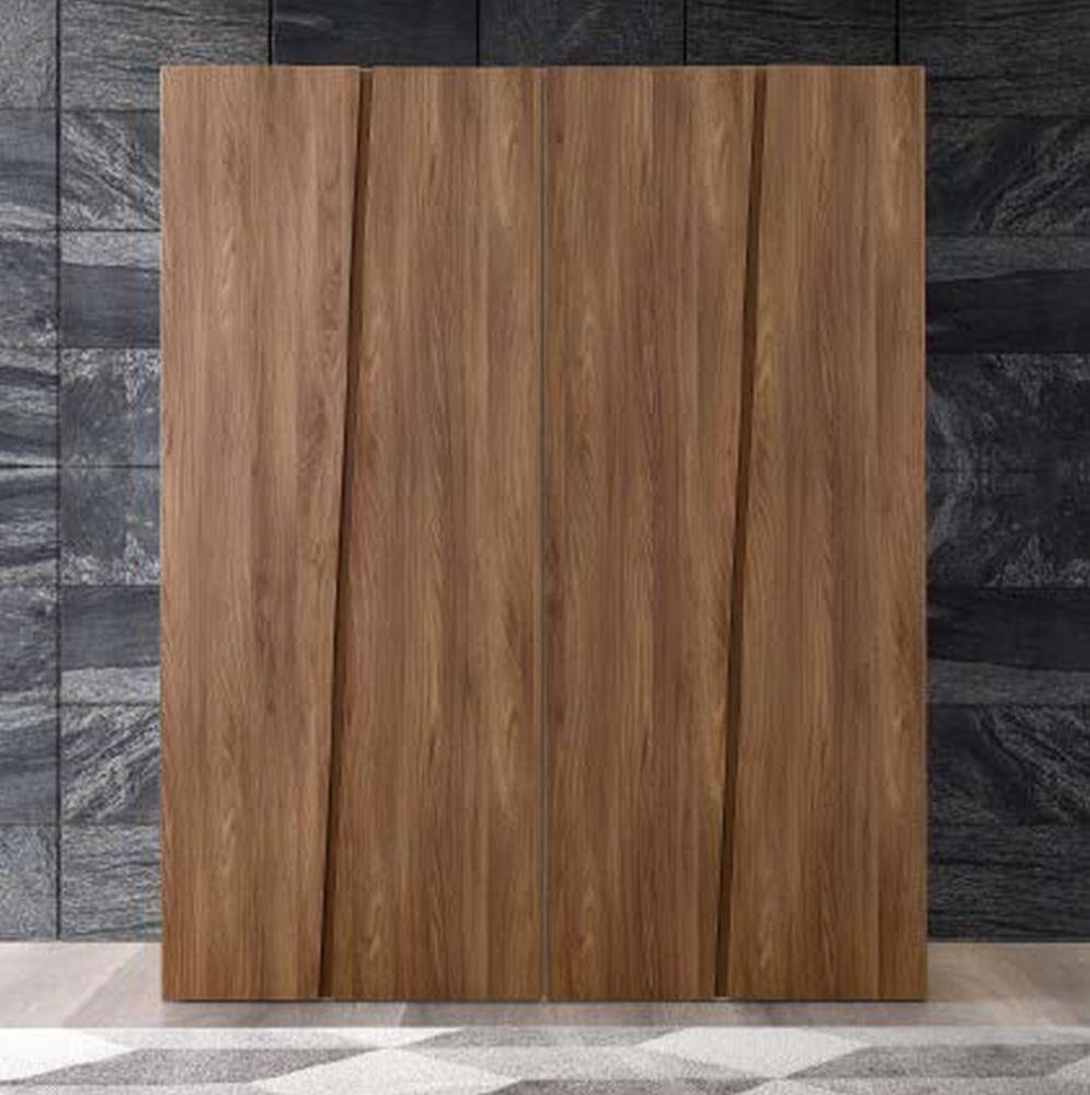 Camel Akademy Night Italian Wooden 4 Door Wardrobe