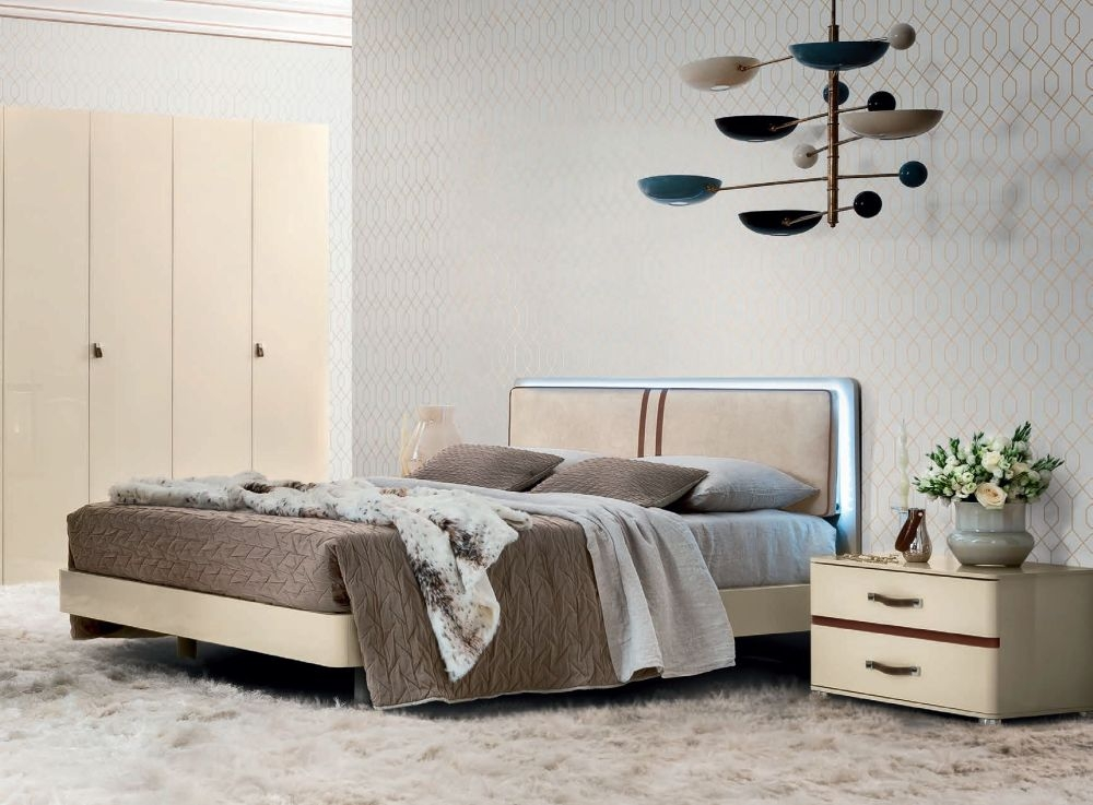 Camel Altea Letto Italian Luna Storage Bed