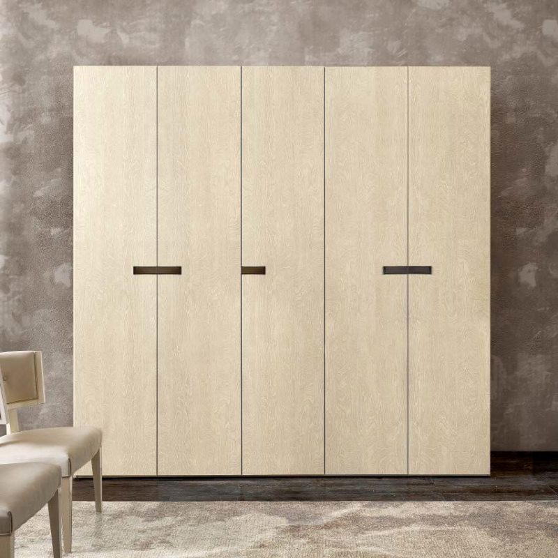 Camel Ambra Night Sand Birch Italian Wardrobe