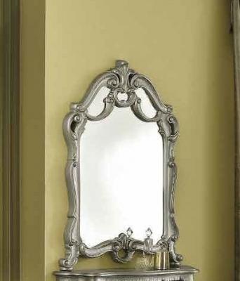 Camel Barocco Silver Italian Mirror - 86cm x 113cm